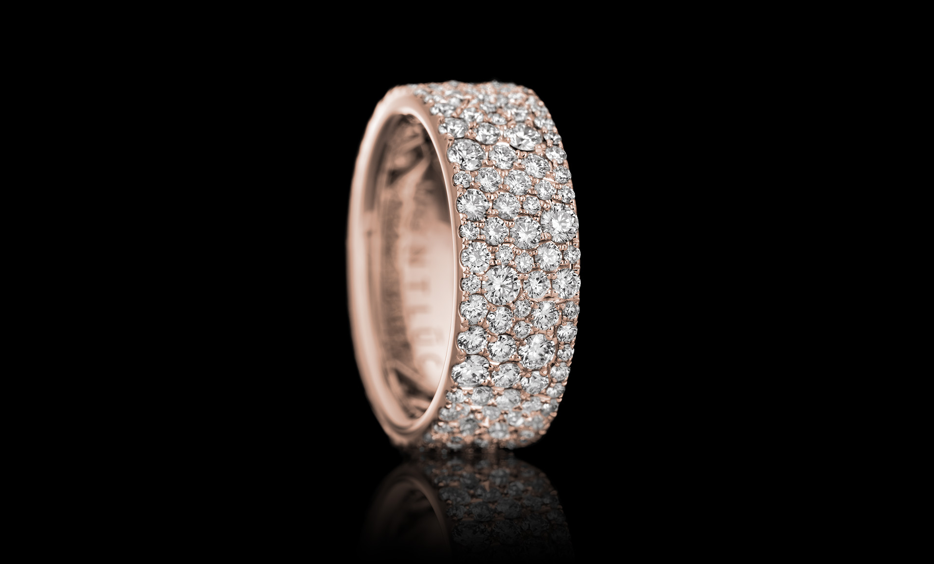 Constellation No.1 diamond ring rose