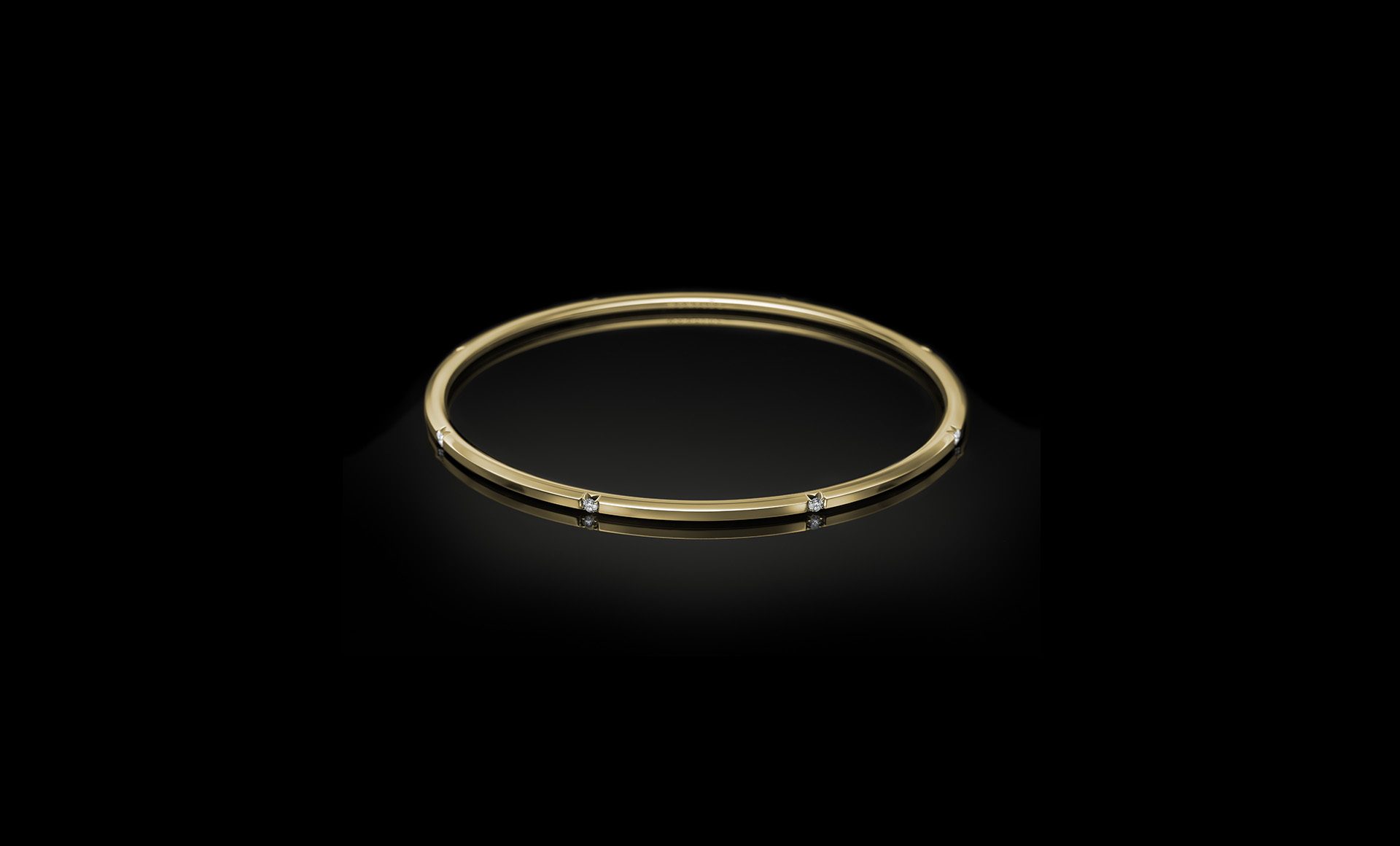 Halo No.7 bracelet yellow gold